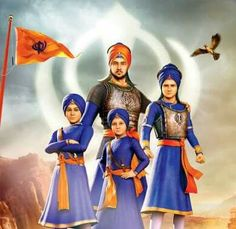 Tenth Sikh Guru Gobind Singh's Chaar Sahibzaade's sons) martyrdom is Sikh history's very prominent chapter. Martyrdom of Sahibzaada Ajit Singh and Sahibza. Guru Granth Sahib Quotes, Sri Guru Granth Sahib, Guru Nanak Ji, Nanak Dev Ji, Zorawar Singh, Shivaji Maharaj Painting, Baba Deep Singh Ji, Guru Nanak Wallpaper, Guru Pics