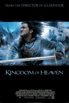 #ElReinoDeLosCielos (2005). Dir: Ridley Scott; Int: Orlando Bloom, Eva Green, Jeremy Irons, David Thewlis, Brendan Gleeson, Marton Csokas y Liam Neeson.