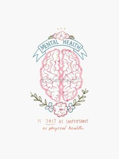 Discover why mental health is just as important as physical health. Your mental . by 𝕒𝕜𝕒 𝕋𝕙𝕖 𝕂𝔼𝕋𝕆 ℂ𝕠𝕝𝕠𝕞𝕓𝕚𝕒𝕟 ™ Make Yourself A Priority, Make It Yourself, Great Life, Practical Gifts, Mental Health Awareness, Transparent Stickers, How To Look Pretty, Physics, Psychology