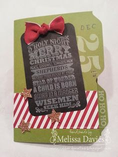 File Folder Card created with the Envelope Punch Board by Melissa Davies @ rubberfunatics