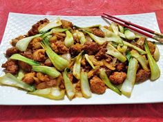 Spicy Chicken With Bok Choy - Celebration In My Kitchen Goan Recipes, New Recipes, Goan Food, Boneless Chicken Breast, Indian Dishes, No Cook Meals, Fried Chicken, Spicy, Celebration