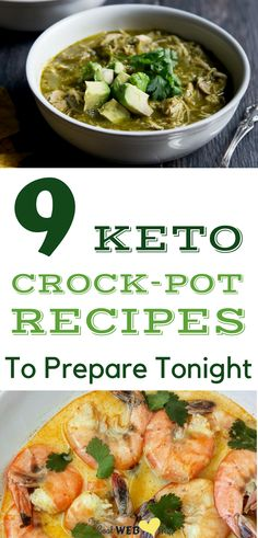 The easy low carb keto dinner recipes. Slow cooker recipes making the most delicious low carb diets.