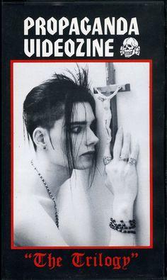 Propaganda Videozine, The Trilogy, John Koviak. 80s Goth, Punk Goth, Gothic Musik, Goth Guys, Goth Men, Goth Bands, Goth Subculture, Street Goth, Goth Aesthetic