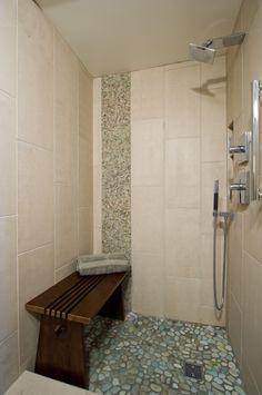 Bathroom Remodel Honolulu imperial beige ceramic wall tile shower. | bathroom | pinterest