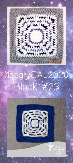 MooglyCAL2020 Block 23 is a fun and fast square by The Lindsey Life! Get all the details and links for Block #23 in this free year-long crochet along made with Red Heart With Love! #mooglycal2020 #mooglyblog #thelindseylife #yarnspirations #redheartyarns #freecrochetpatterns