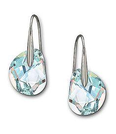 """Swarovski """"Galet"""" Crystal Earrings"""