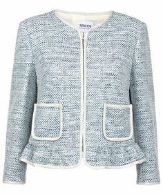 Armani Collezioni - Damen Blazer #chanellike #fashion #armani
