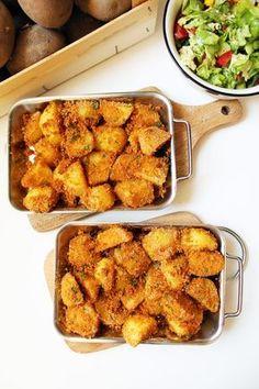 Ziemniaki pieczone w chrupiącej panierce – Via Gusto Easy Healthy Recipes, Easy Meals, Turkish Recipes, Ethnic Recipes, Dinner Recipes, Good Food, Cooking Recipes, Tasty, Lunch