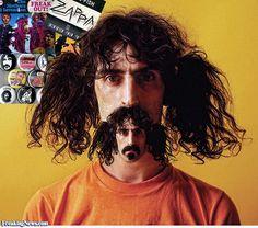 Frank Zappa Moustair