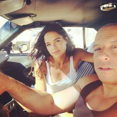 "As filming comes to an end on ""Fast and Furious 7,"" Michelle Rodriguez paid tribute to former co-star Paul Walker with a touching Instagram photo from set. ""Ride or Die through thick and thin 15 yrs later surreal to think we made it through such a tough painful production. But this ones for you P I hope we make you proud love you"" she wrote, sharing a photo of herself and co-star Vin Diesel on July 10, 2014. Walker died in a tragic car accident in November."