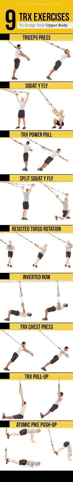 Get ripped with TRX. http://www.livestrong.com/slideshow/1011310-9-trx-exercises-sculpt-insanely-strong-upper-body/