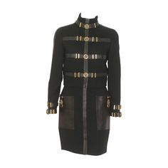 Museum Quality Gianni Versace Bondage Suit Fall 1992 | 1stdibs.com