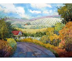 Dillman's Creative Art Workshops - 2016 - Joyce Hicks - Learn How to Create Beautiful Watercolor Landscapes with Easy-to-Paint Shapes - May 21-26, 2016