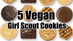 5 Vegan Girl Scout Cookies You Can Totally Devour Guilt Free - http://veryveganrecipes.com/5-vegan-girl-scout-cookies/