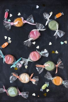"""Macaron """"Candy"""" Favors"""