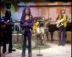"""Janis Joplin and the Full Tilt Boogie Band (with guitarist John Till)--""""Get it While You Can"""" --June 25, 1970 on The Dick Cavett Show.  Her recording of the song was first released in 1971 on the album """"Pearl.""""  Just over three months after this TV appearance, Joplin died Oct. 4, 1970, from a heroin overdose during the recording of the album."""