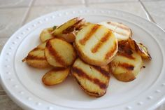 Easy Grilled Potatoes - Eating Made Easy