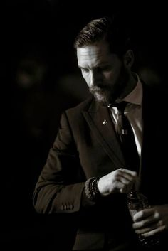Tom Hardy. Look forward to seeing him square off against Cillian Murphy in the second season of Peaky Blinders.