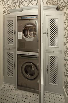 The most beautiful laundry room I've ever seen.