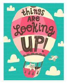 Things Are Looking Up! = words I need to remember