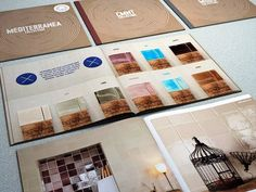 Desain Katalog Brosur Furnitur Modern - Catalogue Set Design for Q Project 1