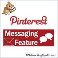 How to message another pinner on Pinterest  #tips, #tricks, #pinterest, apps.facebook.com...