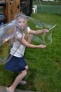 Riiiiiesen :) Seifenblasen!!