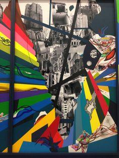 Franz Ackermann, Hügel und Zweifel, Berlinische Galerie, Berlin 2014 #franzackermann #art #painting