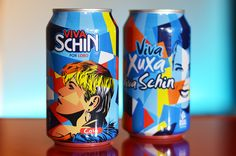 Viva Schin presenteia Xuxa com a arte do Lobo - Lobo | Pop Art #lobopopart #artista lobo #paintings #fineart #xuxa