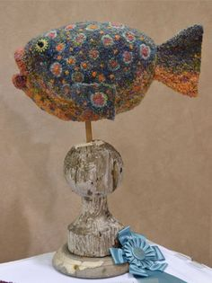 Fish-sculpted-rug-Molly-Colegrove