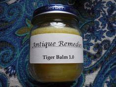 Antique Remedies: Homemade Tiger Balm