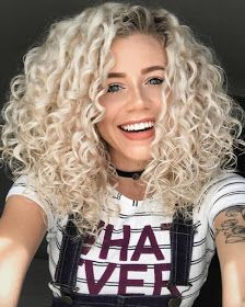 Medium Bob Synthetic Hair Kinky Curly Wig 16 Inches Sure, the bushy perms of the might be out of Curly Hair Styles, Cute Curly Hairstyles, Short Curly Hair, Hairstyles With Bangs, Medium Hair Styles, Straight Hairstyles, Natural Hair Styles, Blonde Curly Hair Natural, Blonde Hairstyles