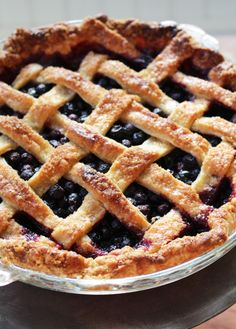 Saskatoon Pie - Dinner With Julie Saskatoon Recipes, Saskatoon Berry Recipe, Pie Recipes, Dessert Recipes, Cooking Recipes, Desserts, Recipies, Yummy Treats, Sweet Treats