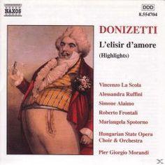 Prezzi e Sconti: #L'elisir d'amore selezione  ad Euro 6.90 in #Naxos #Media musica classica lirica