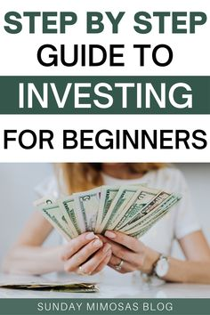 Learn how to start investing in stocks with little money! This is a simple step by step guide to investing for beginners. We go over investing 101, investing money for beginners tips, how to invest money and more! #moneytips #investing Amazing Life Hacks, Simple Life Hacks, Useful Life Hacks, Best Money Saving Tips, Money Tips, Saving Money, Investing In Stocks, Investing Money, First Apartment Tips