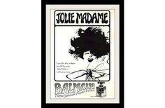 1965 Balmain Jolie Madame Perfume Ad, Vintage Advertisement Art Print