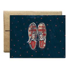 Her Shoes Notecard Set
