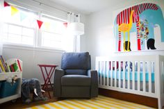 A pretty perfect nursery. The nursery is finished! » Gail Werner Photography