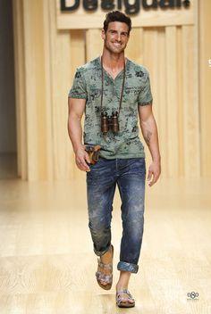 #Menswear #Trends  DESIGUAL Spring Summer 2015 Primavera Verano #Tendencias #Moda Hombre