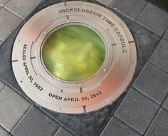 The Nickelodeon time capsule will be opened on April 30, 2042. | A Fascinating Look Inside The Great Nickelodeon Time Capsule Of1992