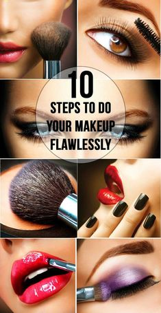 RingMyFashion: 10 Steps To Do Your Makeup Flawlessly
