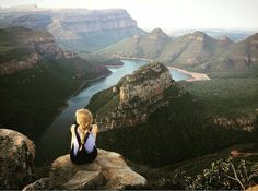 Taking in the epic beauty of Blyde River Canyon. Photo by @hannnahbeth #ThisIsSouthAfrica by southafrica