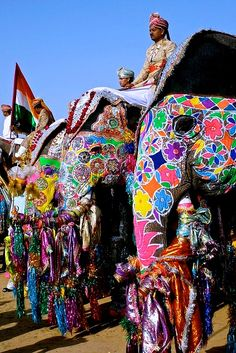 Jaipur festival of elephants