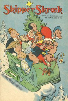 Cover for Skipper Skræk (Aller [DK], 1938 series) #52/1957