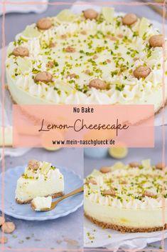 No Bake Lemon Cheesecake, Cupcakes, Vanilla Cake, Sweets, Post, Baking, Desserts, German, Blog