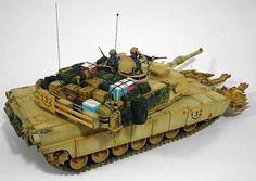 M1A2 SEP 'Armor Ghetto' 1/35 Scale Model