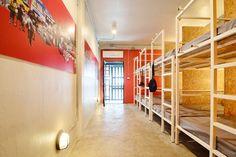 Bed dorm Adventure hostel, Bangkok, Thailand #hostel #bangkok #Thailand #COLLUMN