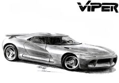 Prize : Dodge Viper Defender to RedfoxBennaton by toyonda on DeviantArt Best Lamborghini, Mopar Or No Car, Dodge Viper, Car Sketch, Batmobile, Hot Cars, Motor Car, Custom Cars, Concept Cars