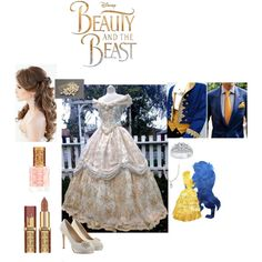 """""""Beauty and the Beast inspired Wedding"""" Beauty And The Beast Wedding Dresses, Belle Wedding Dresses, Beauty And The Beast Theme, Disney Beauty And The Beast, Wedding Beauty, Dream Wedding, Wedding Things, Aladdin Wedding, Disney Inspired Wedding"""