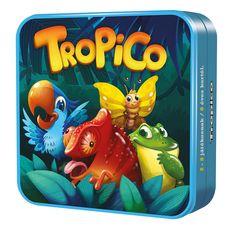 Mennyire jó a memóriád? Emlékszel milyen színű volt felülről a harmadik állat? Több kaméleon volt eddig, mint papagáj? A Tropico egy izgalmas játék, amiben minél több infót kell megjegyezned az aktuális lapról, majd helyesen válaszolni a hozzá tartozó kérdésre. A győzelemhez jó megfigyelésre lesz szükséged. Könnyűnek tűnik? Eleinte lehet, de ahogy halmozódnak a lapok, egyre bonyolódik a kihívás. Lunch Box, Cocktails, Phone Cases, Games, Ainsi, Action, Unique, Game Mechanics, Animal Cards